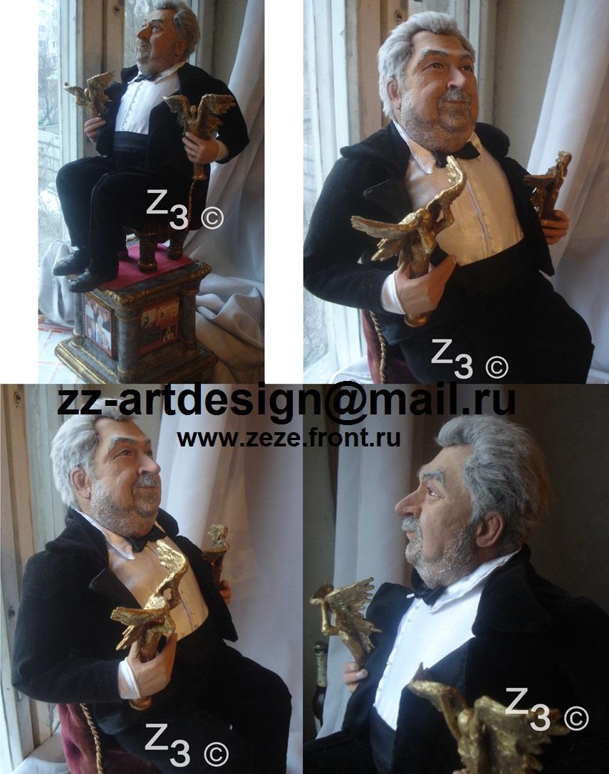 портретная кукла Ю. Гусман